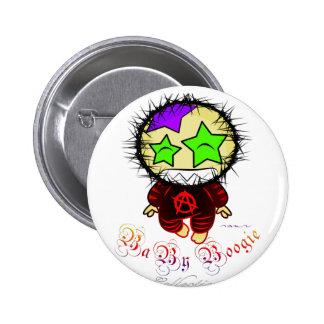 Baby Boogie - Anarchist Rocker Pinback Buttons