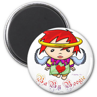 Baby Boogie - Angel Fridge Magnets