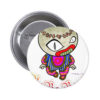 Baby Boogie - Clowny Pinback Button