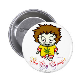 Baby Boogie - Junky Kid Pinback Button