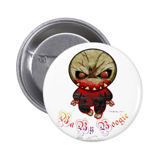 Baby Boogie - Monster Spike Pinback Button