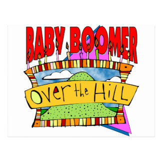 Baby Boomer Birthdays Postcards