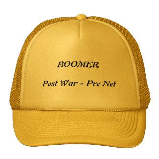 Baby Boomer cap for Gramps. Trucker Hat
