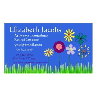 Baby Boomer's Retirement Business Card