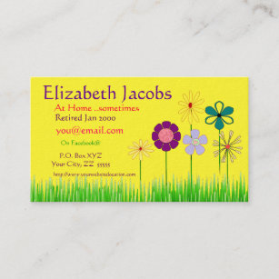 Retired business cards business card printing zazzle uk baby boomers retirement business card colourmoves