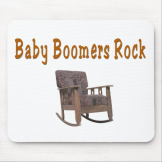 baby boomers rock funny mousepad