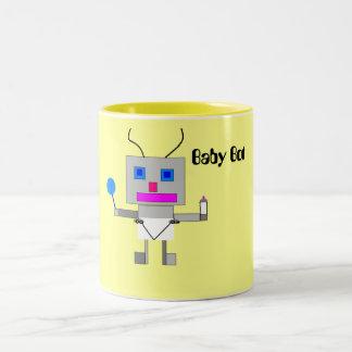 Baby Bot Two-Tone Coffee Mug