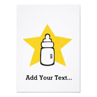 Baby bottle Star Announcement