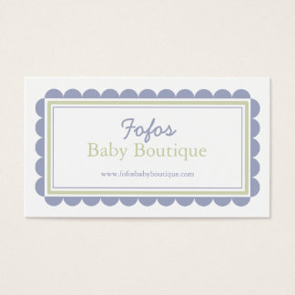 Baby Boutique Business Card