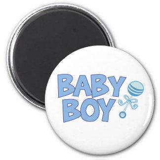 Baby Boy 6 Cm Round Magnet