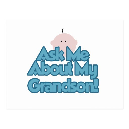 Baby Boy Ask About My Grandson Gifts Post Cards