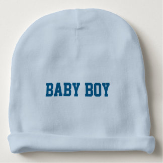 Baby Boy Beanie with Personalized Lettered Name Baby Beanie