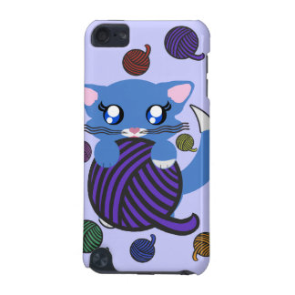 Baby Boy Blue Toon Kitten Skye iPod Case iPod Touch (5th Generation) Cover