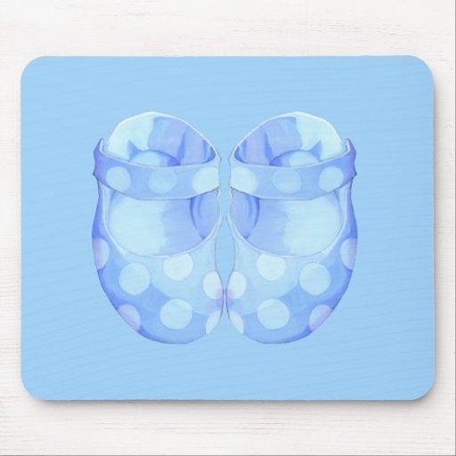 Baby Boy Booties Mousepad