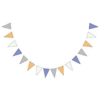 Baby Boy Bunting Banner Flags