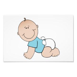Baby boy cartoon photo