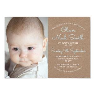 Christening baptism invitations zazzle baby boy christeningbaptism invitation stopboris Image collections