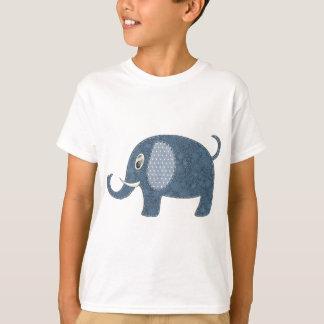 Baby Boy Elephant Applique T-shirt