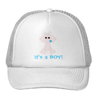 Baby Boy Hat Template