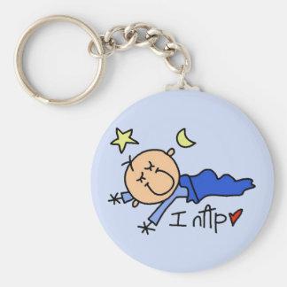 Baby Boy I Nap Keychain