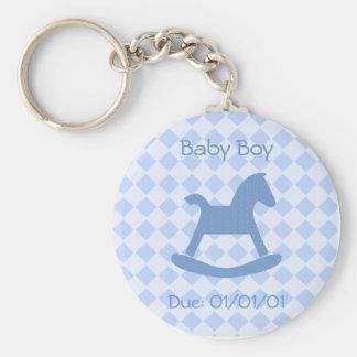 Baby Boy Keychain