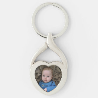 Baby Boy Little Son Personalised Photo Key Chain