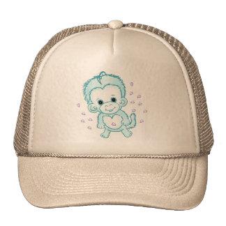 Baby Boy Monkey Trucker Hats