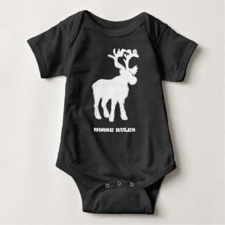 Baby Boy Moose T-shirts