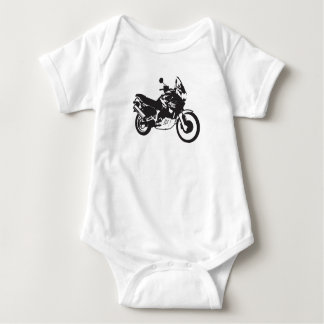 Baby Boy Motorcycle Graphic Baby Bodysuit