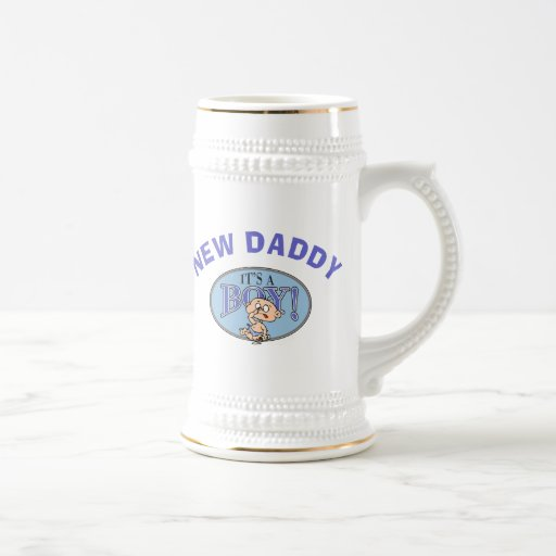 Baby Boy New Daddy Coffee Mug