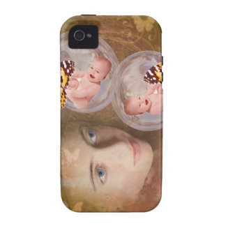 Baby boy or girl twins iPhone 4/4S case