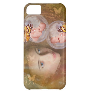 Baby boy or girl twins case for iPhone 5C