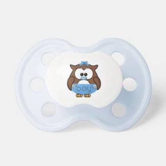 baby boy owl pacifier