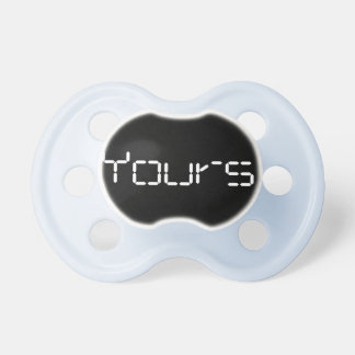 Baby Boy Pacifier: Black Dummy