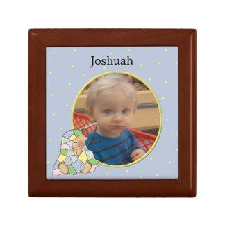 Baby Boy Photo Tile Box