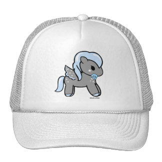 Baby Boy Pony | White Trucker Hat Dolce & Pony