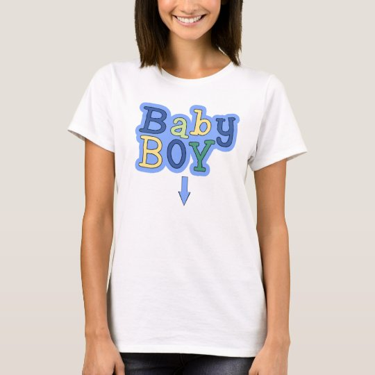 Baby Boy Pregnancy Announcement T-Shirt