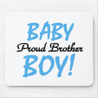 Baby Boy Proud Brother Mouse Pads