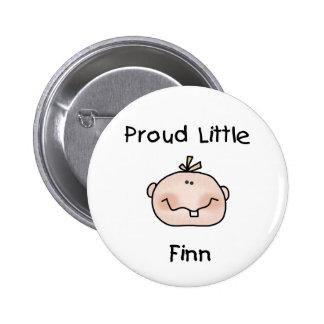 Baby Boy Proud Little Finn 6 Cm Round Badge