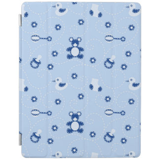 Baby-boy Quilt Pattern iPad Cover