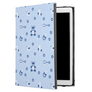 "Baby-boy Quilt Pattern iPad Pro 12.9"" Case"