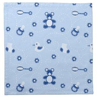 Baby-boy Quilt Pattern Napkin