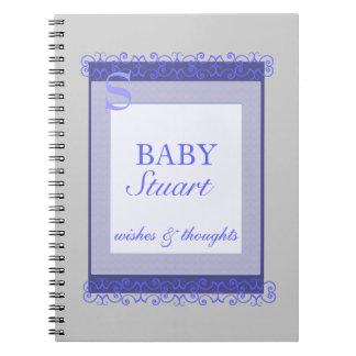 Baby boy Shower guest book