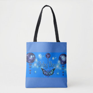Baby Boy Shower Tote Bag