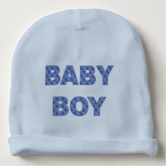 Baby boy storks baby beanie