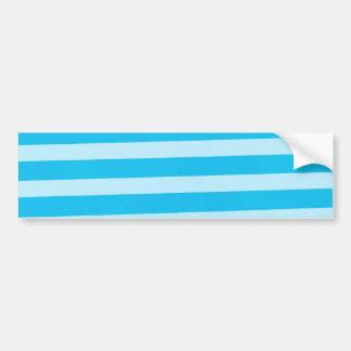 Baby Boy Stripes Car Bumper Sticker
