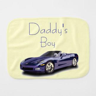 Baby Boy (Transportation) Burp Cloths