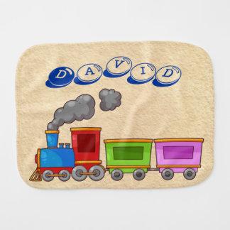 Baby Boy Transportation Burp Cloths