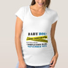 Baby Boy Under Construction Maternity T-Shirt