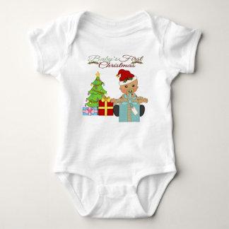 Baby Boy's 1st Christmas Infant Creeper